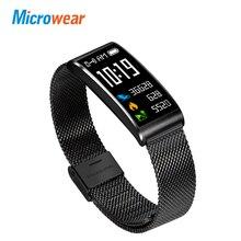 Microwear X3 Smart Band IP 68 waterproof Pedometer Bluetooth 4.0 Smart wristband fitness blood pressure Heart Rate Sleep Monitor