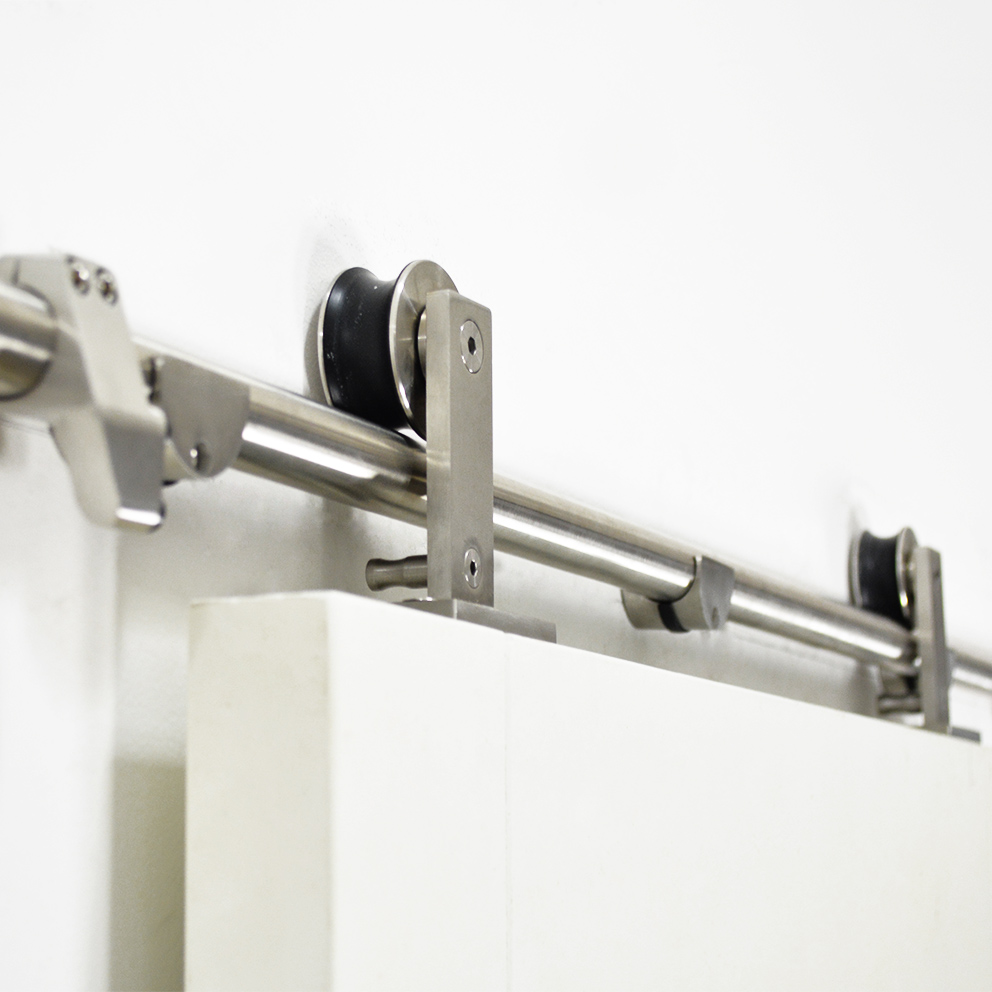 Diyhd 5ft 8ft Top Mount Stainless Steel Double Head Twin Roller