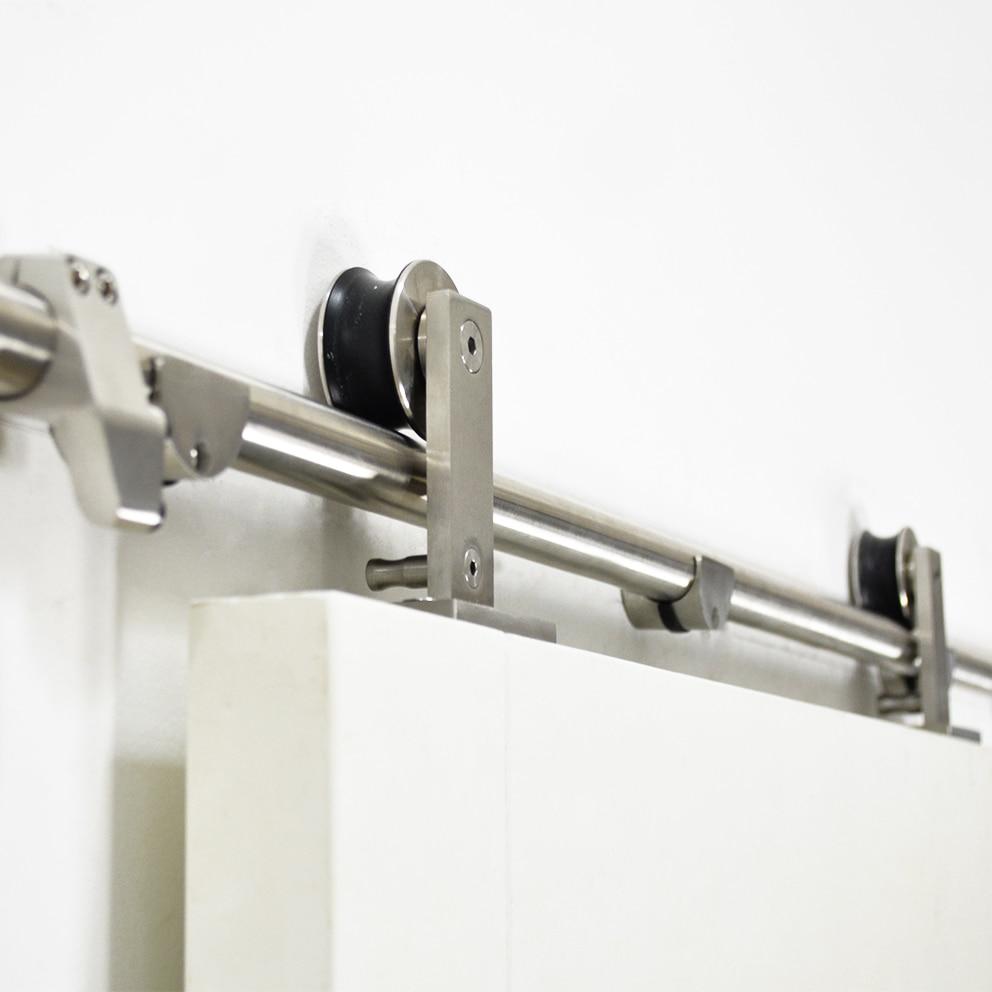 Diyhd 244cm 400cm Stainless Steel Sliding Barn Door Hardware