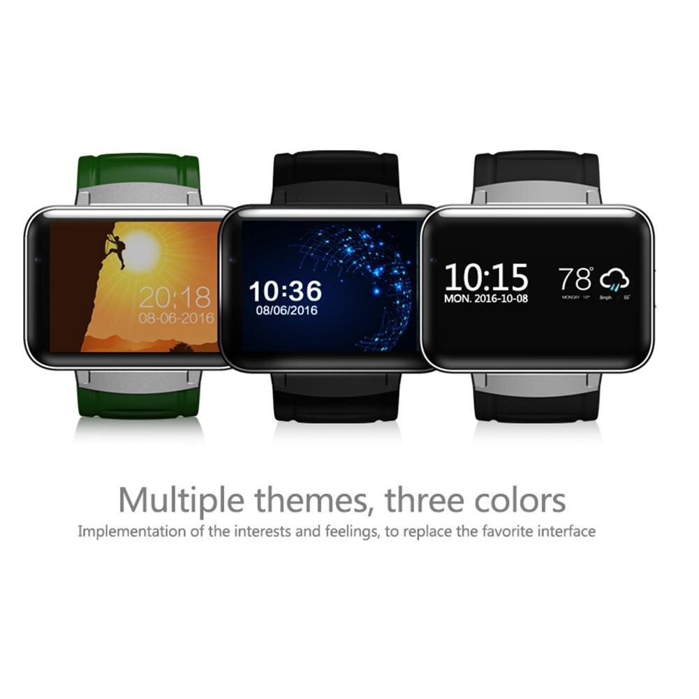 Смарт часы 2,2 дюймов Android OS 3g Smartwatch MTK6572 двухъядерный 1,2 ГГц 512 Мб ОЗУ 4 Гб ПЗУ камера WCDMA gps R20 - 2