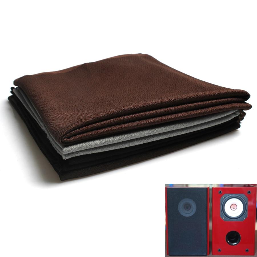 Speaker Mesh Cover Soundproof Fabric Gille Mesh Cloth Speaker Protective HIFI Audio Accessories Silver Coffee Black
