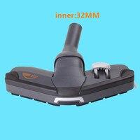 32mm Universal Nozzle Turbo Floor brush for Electrolux Philips Samsung LG Haier Midea vacuum cleaner partsTurbo brush head