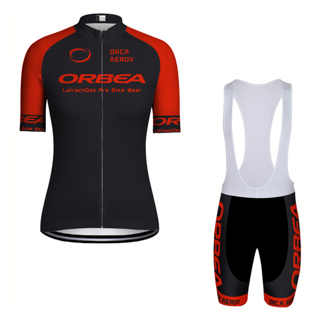 d292e8e5a279 2018 ORBEA New Men Women Cycling Jersey Sets Quick Dry Mtb Bicycle Clothing  Maillot Summer Short sleeve 9D pad Bike Clothes-in Cycling Sets from ...