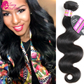 Brazilian Virgin Body Wave 2 Bundles/Lot Sassy Girl Hair Weft 7A Grade Human Hair Weaves Unprocessed Virgin Hair Extention