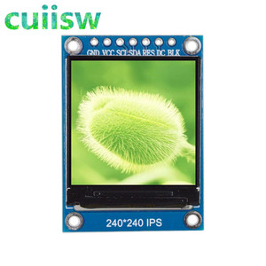 Image 2 - TFT Display 0.96 1.3 1.44 1.8 inch IPS 7P SPI HD 65K Full Color LCD Module ST7735 / ST7789 Drive IC 80*160 240*240 (Not OLED)