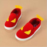 Wiosna jesień dzieci buty slip on unisex dziewczyny chłopcy buty mały potwór projekt dzieci brezentowych butów sneakers chłopców hurtowych
