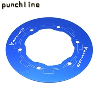Fit For YAMAHA MT 03 MT 03 2006 2012 Motorcycle Accessories Chain Guard Transmission Belt Pulley Sprocket Covers