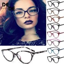 New Glasses frame clear lens Women brand Eyewear optical frames myopia transparent Temples for glasses