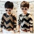 Novo 2015 primavera e outono crianças roupas de bebê camisola criança roupas de crianças tendência