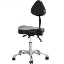 Modern Adjustable Swivel Salon Massage Spa Seat Tattoo Medical Chair Stool Leather Seat and Back Massage Swivel Chair Furniture 7 inch marine boat seat swivel coated mount base chair swivel plate set