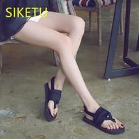 SIKETU Free Shipping Summer Sandals Fashion Casual Shoes Sex Women Shoes Flip Flop Flat Shoes Flats