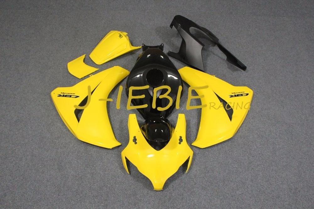 Yellow Injection Fairing Body Work Frame Kit for HONDA CBR1000RR CBR 1000 CBR1000 RR 2008 2009 2010 2011