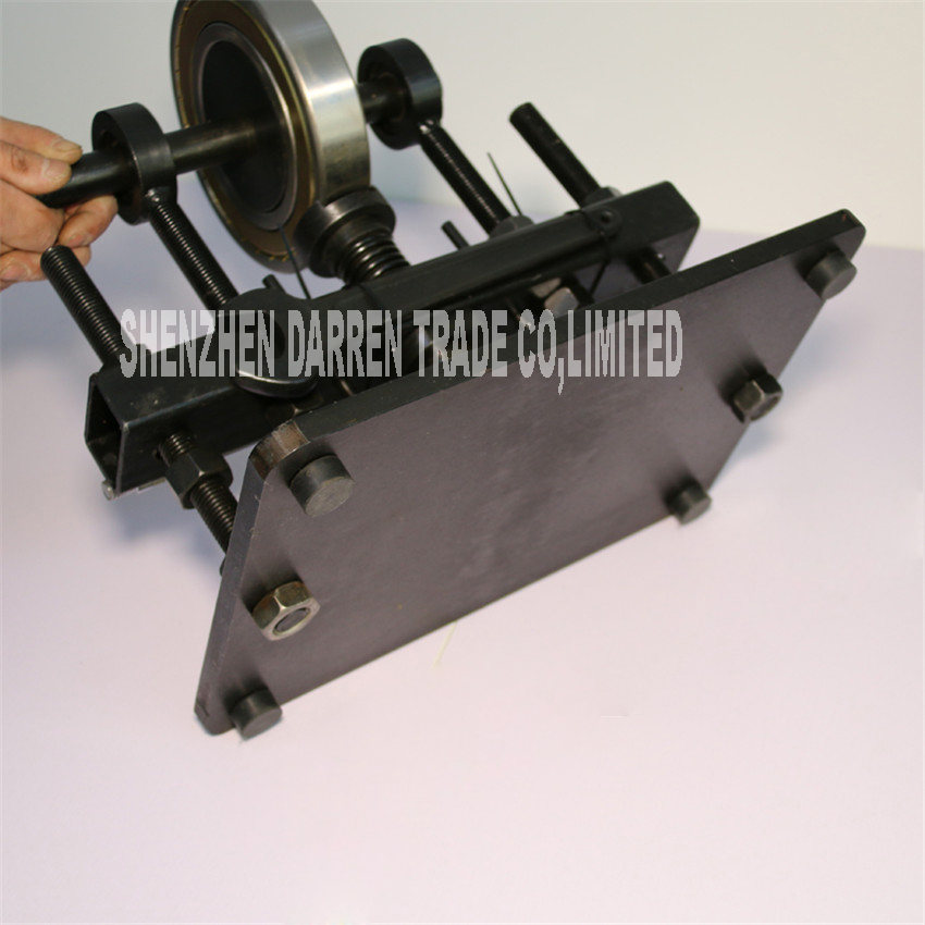Hand Leather cutting machine ,photo paper, PVC/EVA sheet cutter mold,manual Leather Mold/Die cutting machine Manual die press - 5