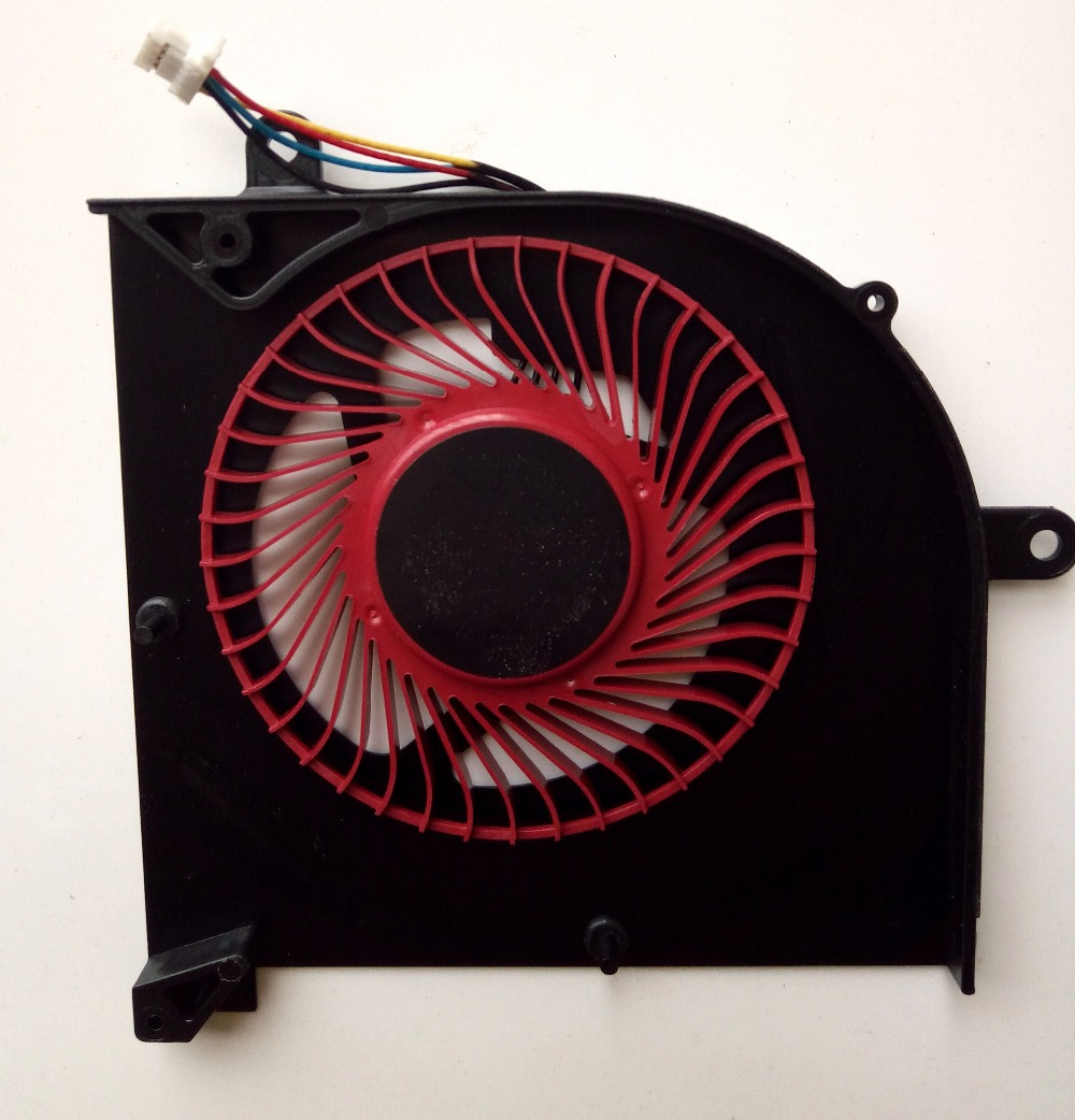 New for MSI GS63 GS63VR GS73 GS73VR MS-16K2 MS-17B laptop CPU cooling fan BS5005HS-U2F1 100% brand new cpu cooling fan for msi hd7750 graphics card fan pla09215b12m