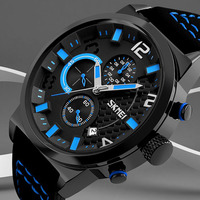 2017 SKMEI Top Brand Men S Fashion Casual Sport Watches Men Waterproof Quartz Watch Man Military