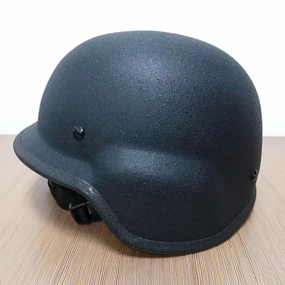 NIJ IIIA PASGT Bullet Proof Steel Helmet/Bulletproof Helmet Tactical Safety Helmet safety pvc special forces helmet random color