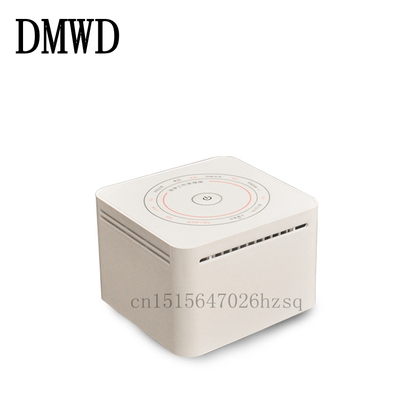 DMWD Household Air Purifiers Ozone Generator Air Cleaner machine for Small Bedroom 220v 5g quartz tube ozone machine household ozone disinfector ozone generator parts