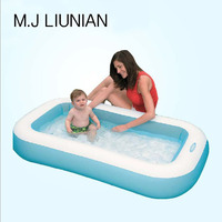 Deluxe Baby pool Inflatable pool swimming pools children's play Pool 166*100*28cm infant 102 Liter of storage tub