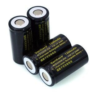 Image 4 - 6 pcs/lot VariCore 3.7 V 32650 7200 mAh Li ion batterie Rechargeable 20A 25A décharge continue Maximum 32A batterie haute puissance