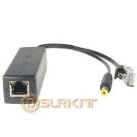 12pcs Active PoE Splitter Power Over Ethernet 48V To 12V 1A Compliant With IEEE802 3af