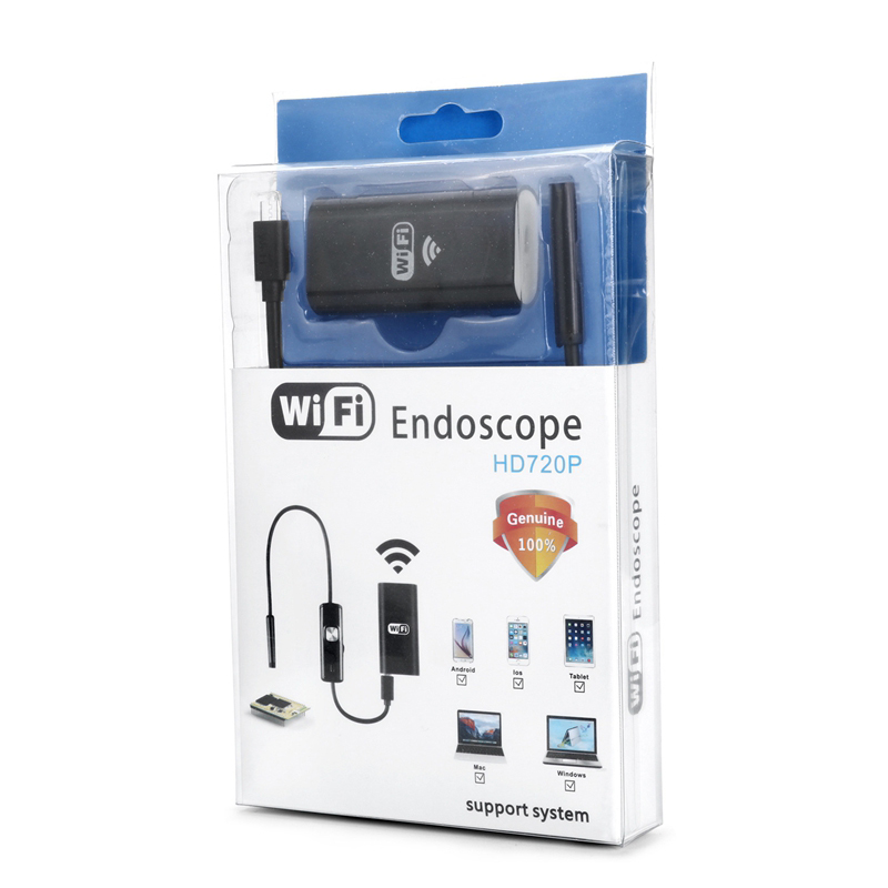 Image 5 - WIFI Endoscope Camera Android Endoscope Camera Mini Flexible Snake Soft Cable Inspection IP Camera 8mm USB Rechargable IOS Phone-in Surveillance Cameras from Security & Protection
