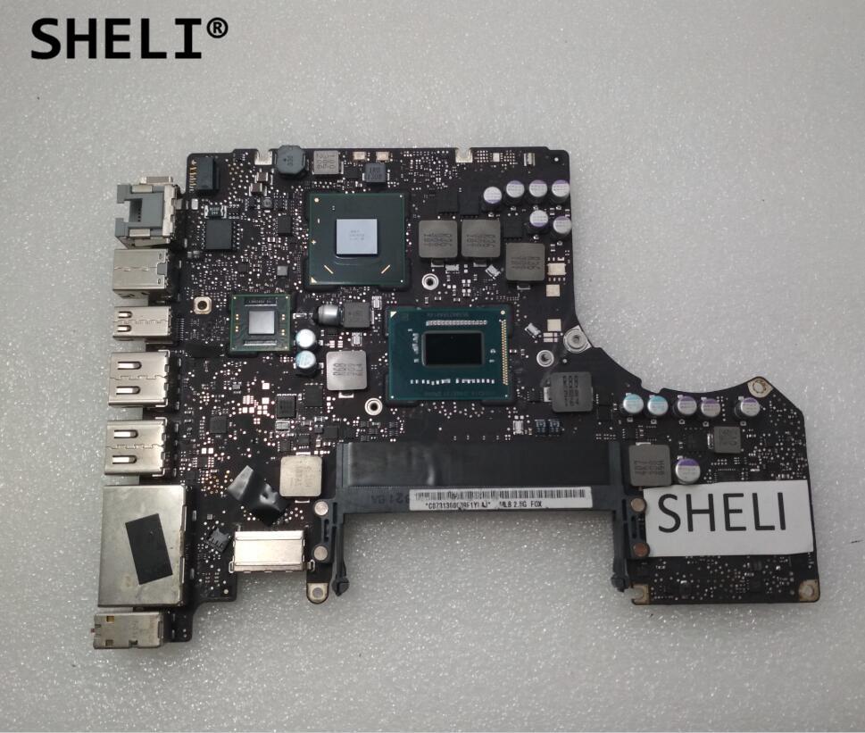 все цены на SHELI For Mackbook Pro 2012 A1278 Motherboard I5-3210M 2.5GHz 820-3115-B 820-3115 Logic Board онлайн