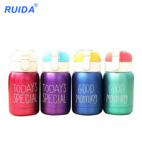 2018 New Hot Mug Vacuum Cup Stainless Steel Thermos Bottle Belly Cup Thermal Bottle Water Insulated
