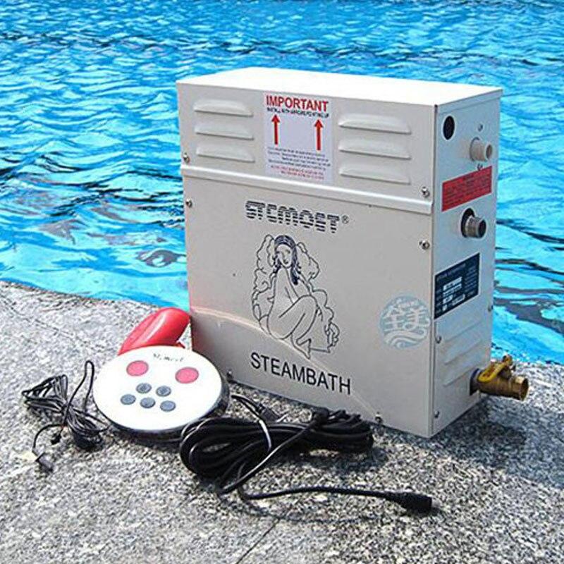 12KW 380V Home use Steam machine Steam generator Sauna Dry stream furnace Wet Steam Steamer digital controller