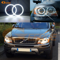 For Volvo XC90 2010 2011 2012 2013 with xenon headlight Excellent Ultra bright illumination smd led Angel Eyes kit DRL