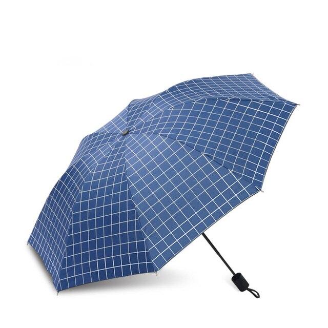 Plaid Pattern Umbrella Mawgie