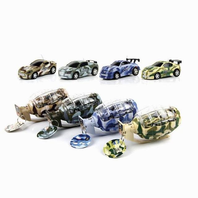 Mini Recarregável de Alta-velocidade Do Carro Em Forma de Granada Granada de RC Carro de Controle Remoto Carro de Brinquedo Carro de Brinquedo Para O Menino