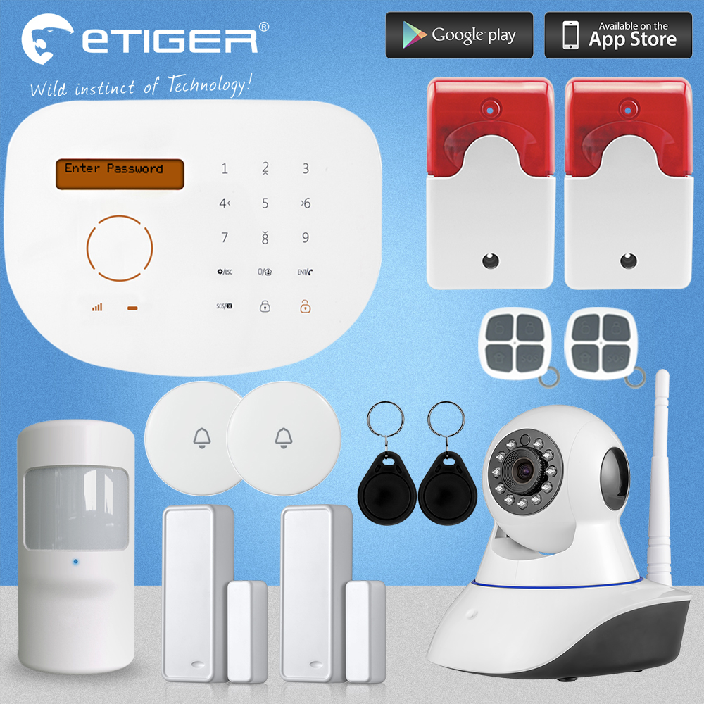 Chuangkesafe S2G GSM Security Alarm System IP font b Camera b font Autodial House Alarm For