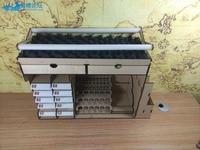 Three In One Model Ship Desktop Tool kit Tool Rack Building Slip