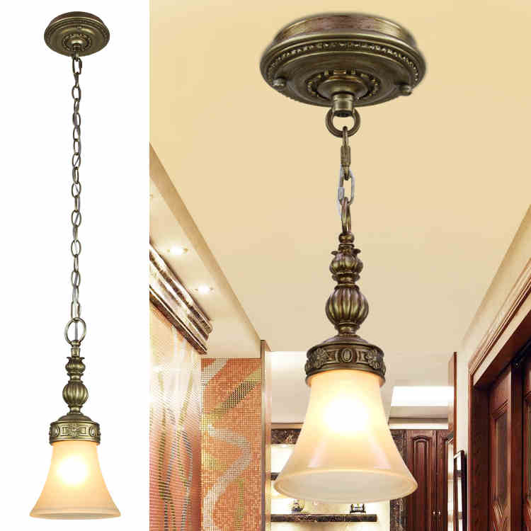 European Retro Countryside Simple American Resin Bar Restaurant Corridor Aisle Balcony Glass Chandelier Free Shipping european rural bird marble hemp rope chandelier cafe restaurant corridor balcony chandelier size 33 38cm e27 ac110 240v