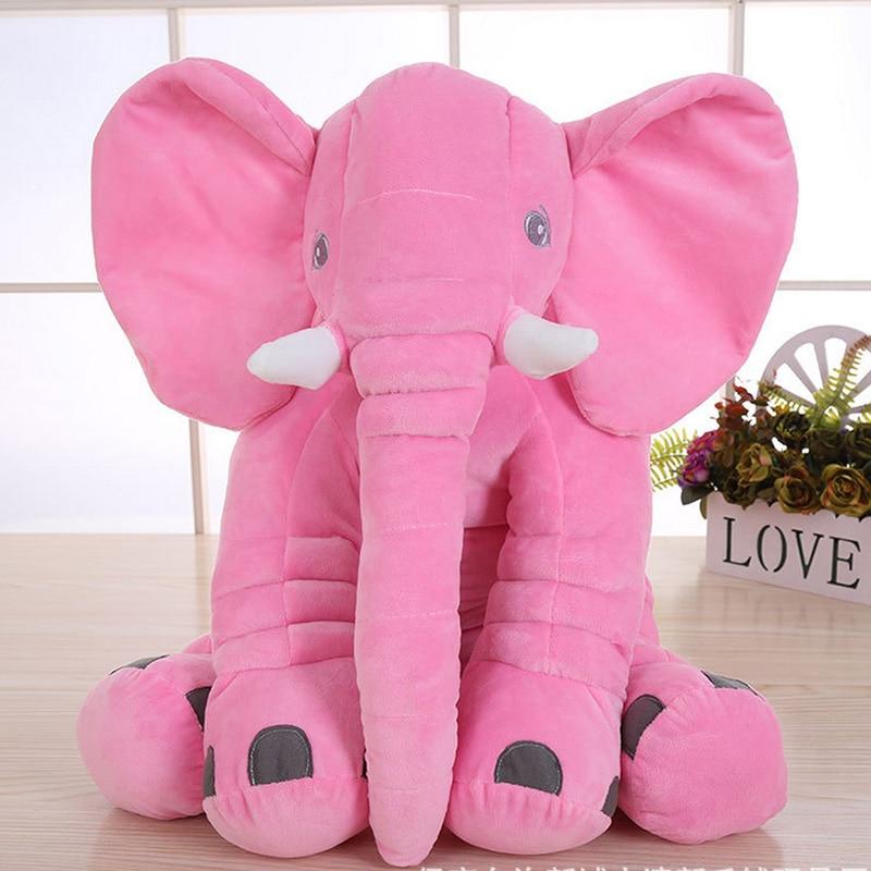 Elephant Plush Toy 6 Colors Option Stuffed Elephant Pillow 1