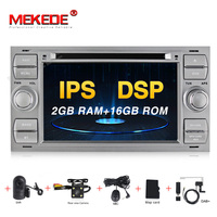 MEKEDE Car Multimedia Player Android 9 GPS Autoradio 2 Din 7 Inch For Ford/Mondeo/Focus/Transit/C MAX/S MAX/Fiesta 2GB RAM DVD
