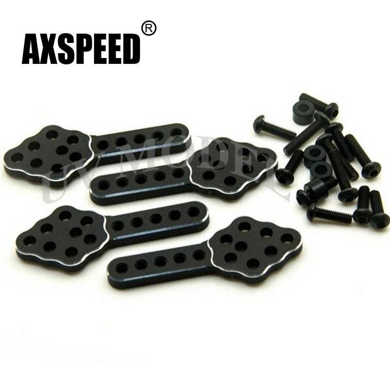1 set Axiale SCX10 Legering Shock Mount Lift Kit voor RC 1/10 Model Auto Deel SCX10 CC01 F350 D90 # D