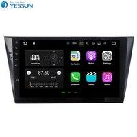 Yessun для VW Bora 2015 ~ 2017 Android автомобильный навигатор GPS аудио видео Радио HD Сенсорный экран стерео Мультимедийный плеер без CD DVD.