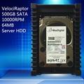 VelociRaptor 500GB 3.5inch SATA 64M 10000RMP 64M Server HDD Warranty for 1yera