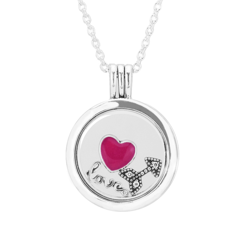 100% 925 Sterling Silver Jewelry Medium Floating Locket Pendant Necklace with 3 Parts Free Shipping100% 925 Sterling Silver Jewelry Medium Floating Locket Pendant Necklace with 3 Parts Free Shipping