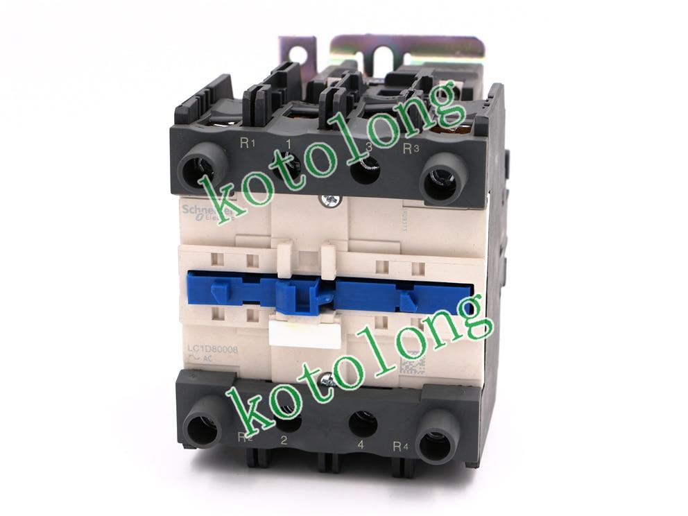 AC Contactor LC1D80008 LC1-D80008 LC1D80008W7 LC-D80008W7 277V LC1D80008V7 LC1-D80008V7 400V ac contactor lc1d40008 lc1 d40008 lc1d40008v7 lc1 d40008v7 400v