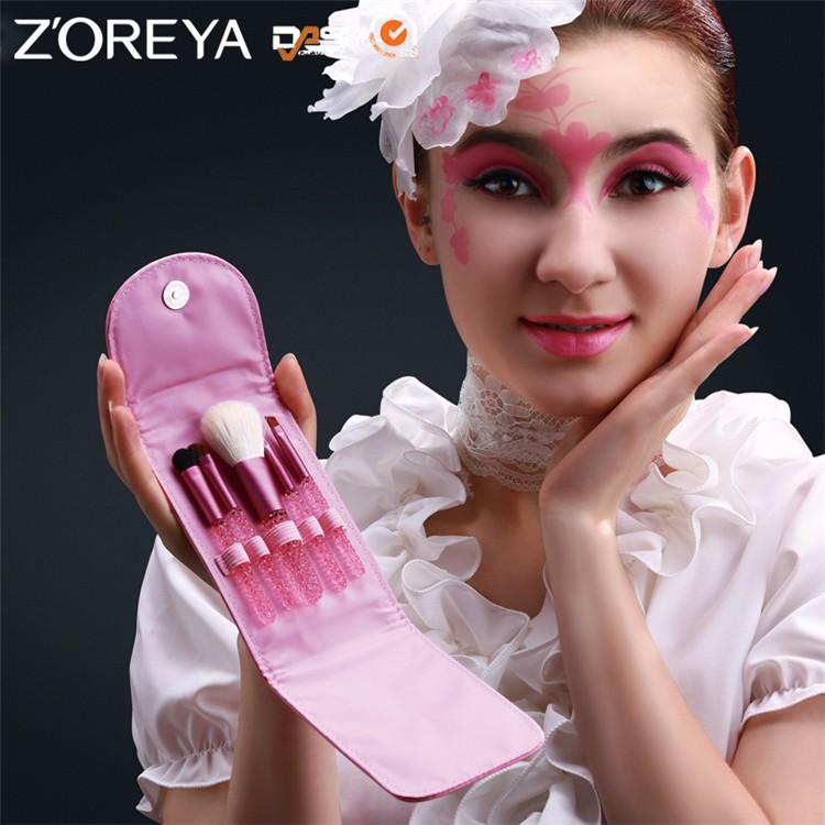 ZS58 custom logo makeup brushes (1)
