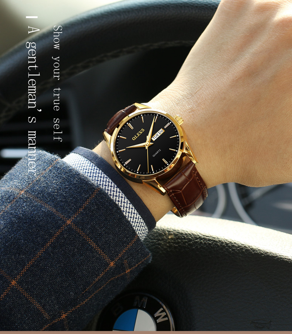 1c4289d39b2 Relógios de pulso homens 2017 marcas famosas OLEVS relógio relogio ...