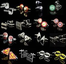 Lanten starwars ironman promotion! superhero captain spiderman batman superman link cuff