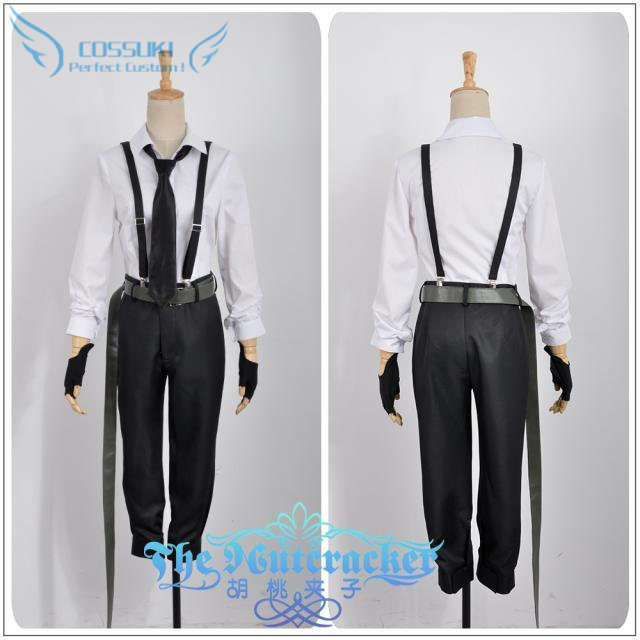 Bungo Stray Dogs Nakajima Atsushi Uniform Cosplay Costume Perfect Custom For You