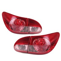 1 PCS Car Tail Light Rear Brake Lamp With LED Bulb for Toyota Corolla 2003 2004 2005 2006 2007 2008 8168102030 Replacement Parts