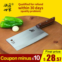 Cleaver knife Stainless steel slicing handmade meat fish vegetable kitchen knivesfaca de cozinha ножи кухонные