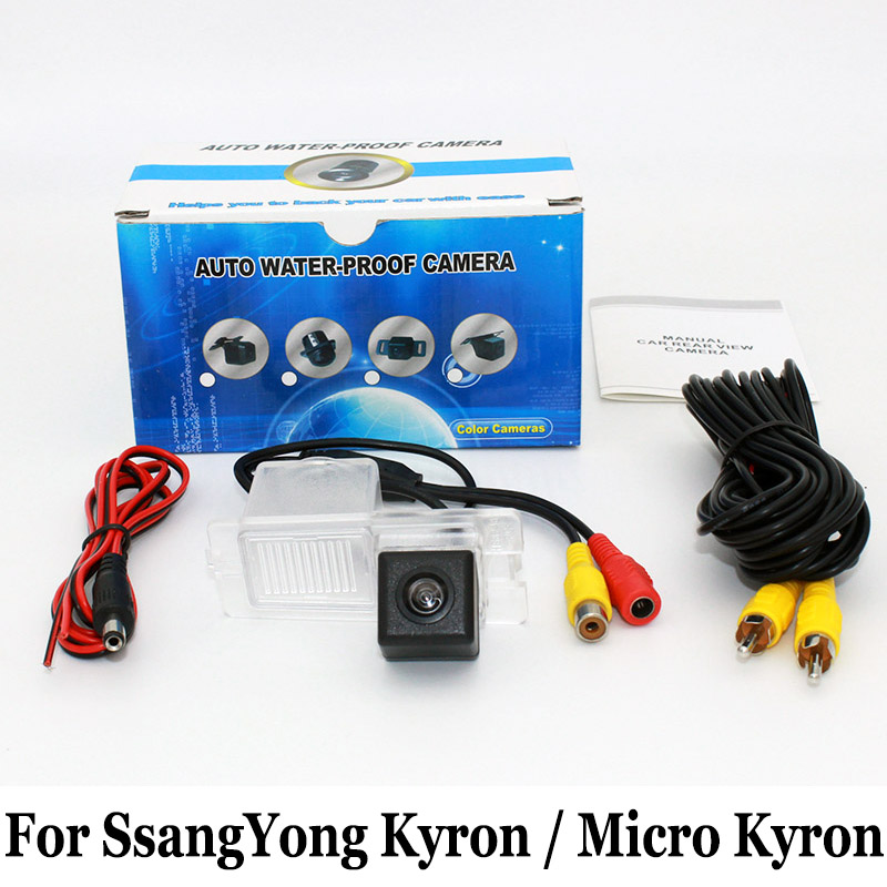 Backup Camera For SsangYong Kyron Micro Kyron RCA AUX Wire Or Wireless HD Wide Lens Angle