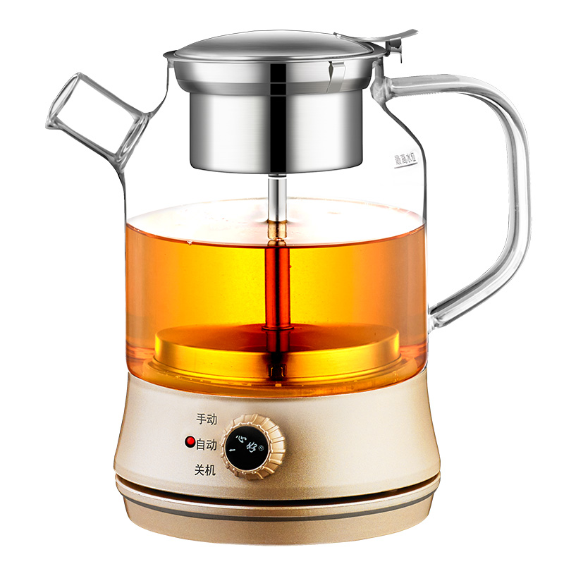 Tea Black Tea Health Pot Automatic Insulation Electric Thicken Glass Teapot Steaming Cooking Tea Kettle Anti-dry Boiling Machine посуда tea pot 2015 yixing zisha 120 teapot
