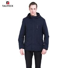 2019 Men Spring Jacket Trench Coat Autumn Windbreaker Men Parka Camouflage Jacket Hooded Coat Black Men Jacket Trench Outwear